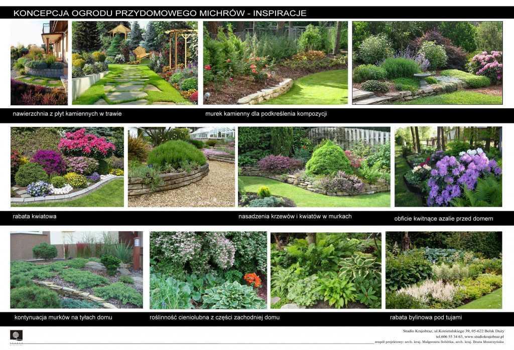 projekt ogrodu w